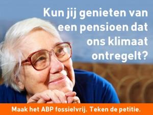 Natuur en Milieufederaties roepen op om ABP fossielvrij petitie te ondertekenen