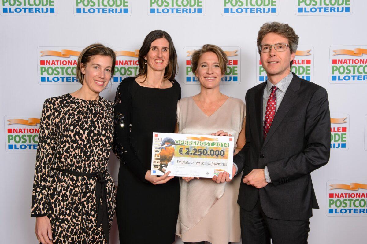 Postcode Loterij: 2,25 miljoen euro voor de Natuur- en Milieufederaties