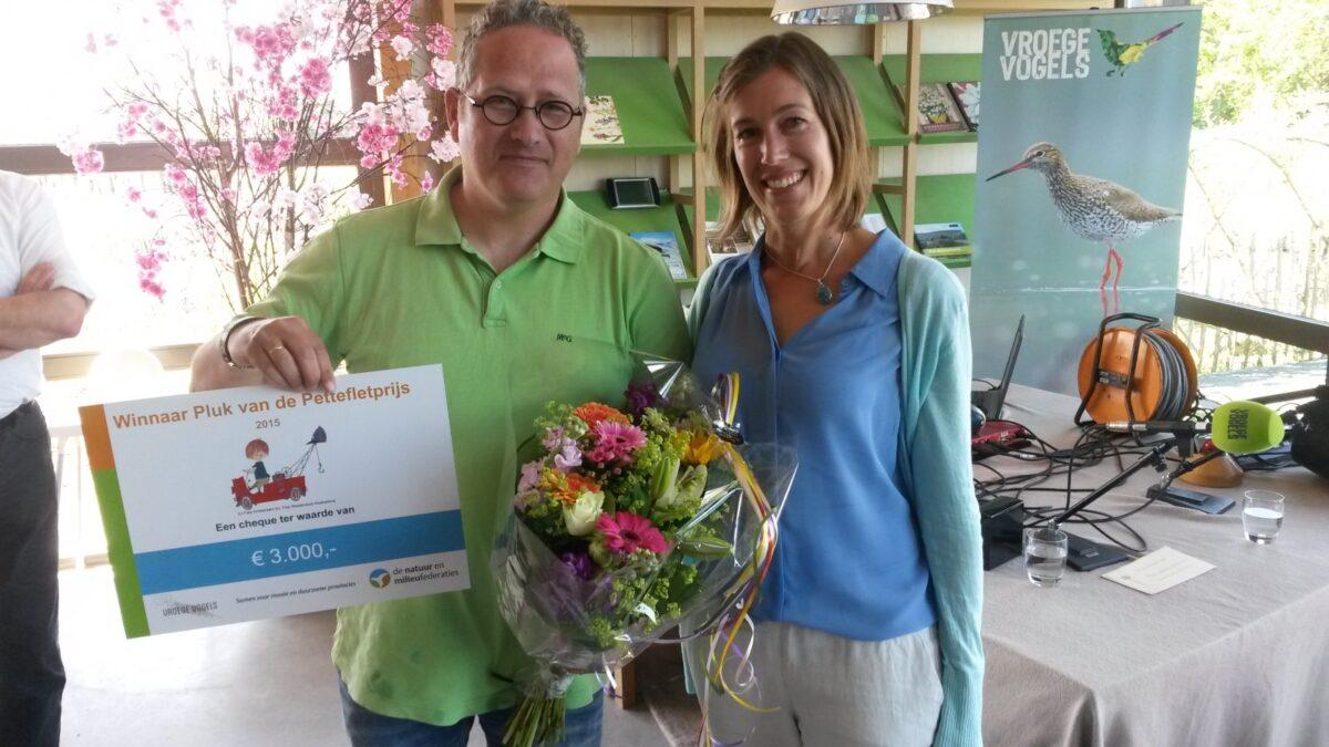 Stationspark Deurne wint Pluk van de Pettefletprijs 2015