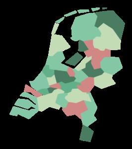 RES regio's Nederland