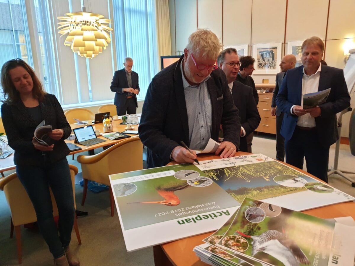 Zuid-Holland biedt boerenlandvogels de ruimte
