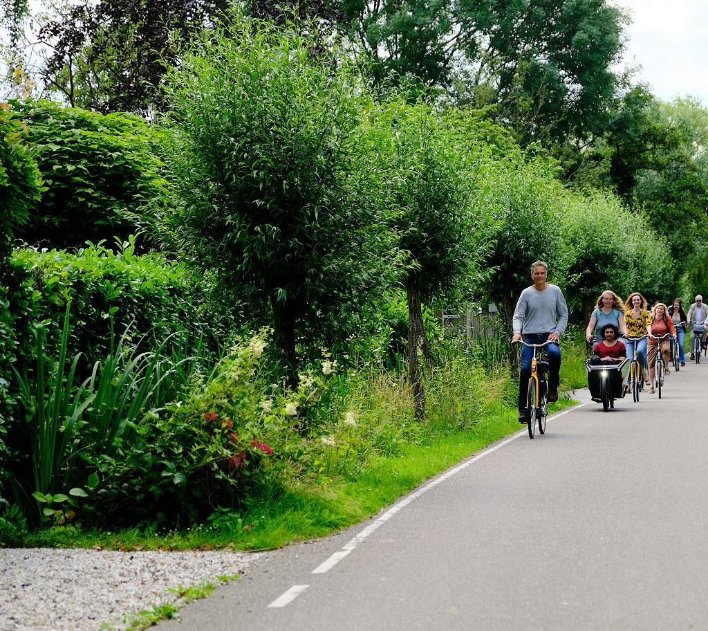 Team NMZH op excursie rond de Reeuwijkse plassen