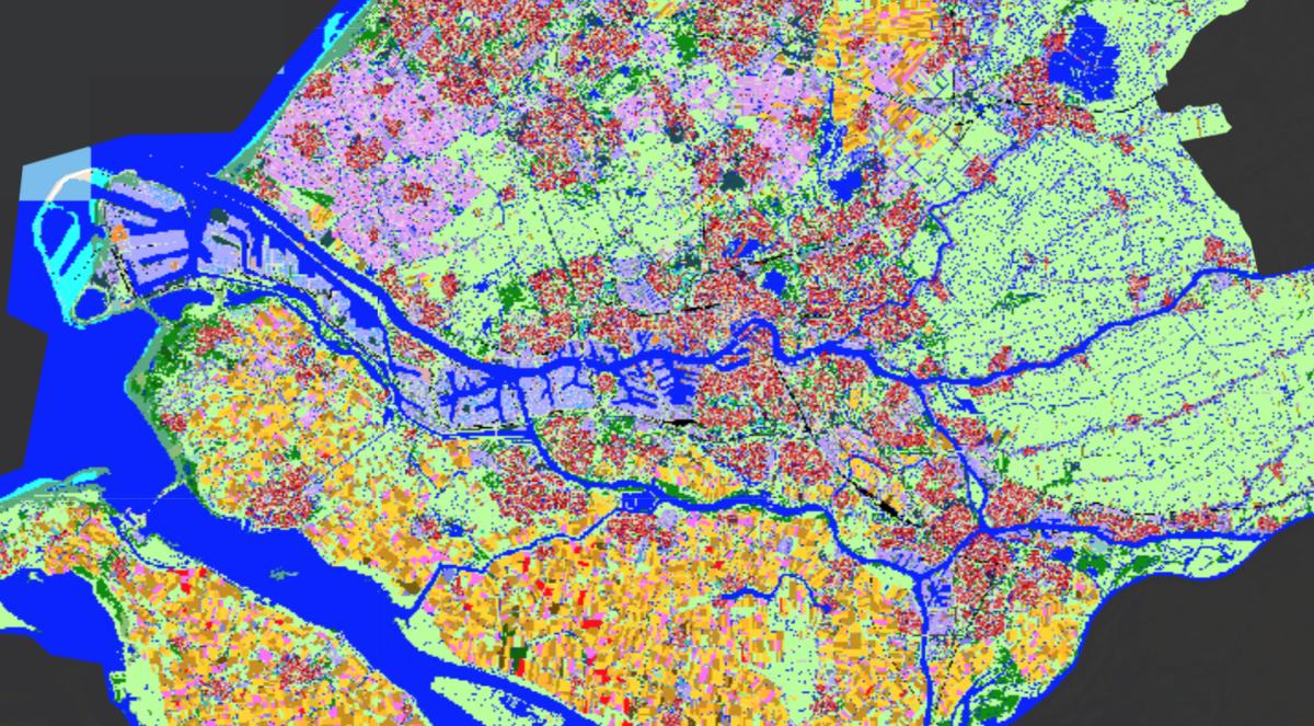 Potentiekaart Rijnmond: bufferzones en natuurcompensatie in de toekomst