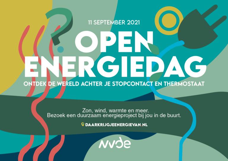 Waar komt jouw energie vandaan? Ontdek het tijdens de Open Energiedag op 11 september
