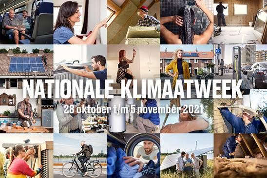 Dit doen wij tijdens de Nationale Klimaatweek 2021